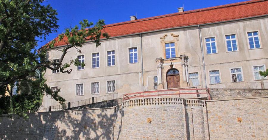 Zamek w Krapkowicach - zdjęcie