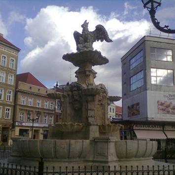fontanna Orła Białego