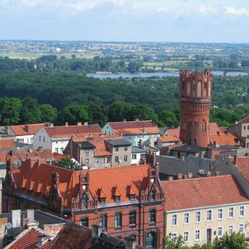 Chelmno widok z wieży kościelnej, Anna Piernikarczyk
