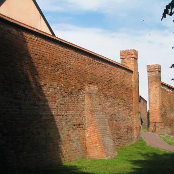 Mury miejskie w Chełmnie - zdjęcie