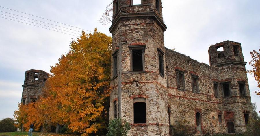 Zamek w Podzamczu Piekoszowskim - zdjęcie