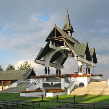 Sanktuarium w Ludźmierzu - zdjęcie