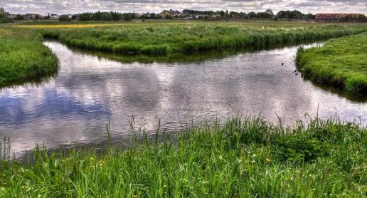 Skrzyżowanie rzek w Wągrowcu - zdjęcie