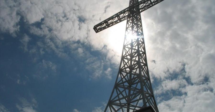 Krzyż na Miejskiej Górze w Limanowej - zdjęcie