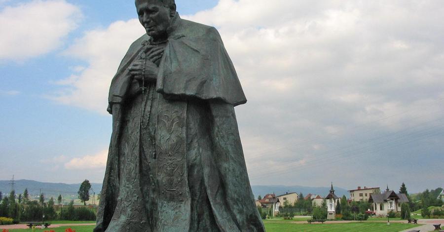 Ludźmierz - pomnik papieża, Anna Piernikarczyk