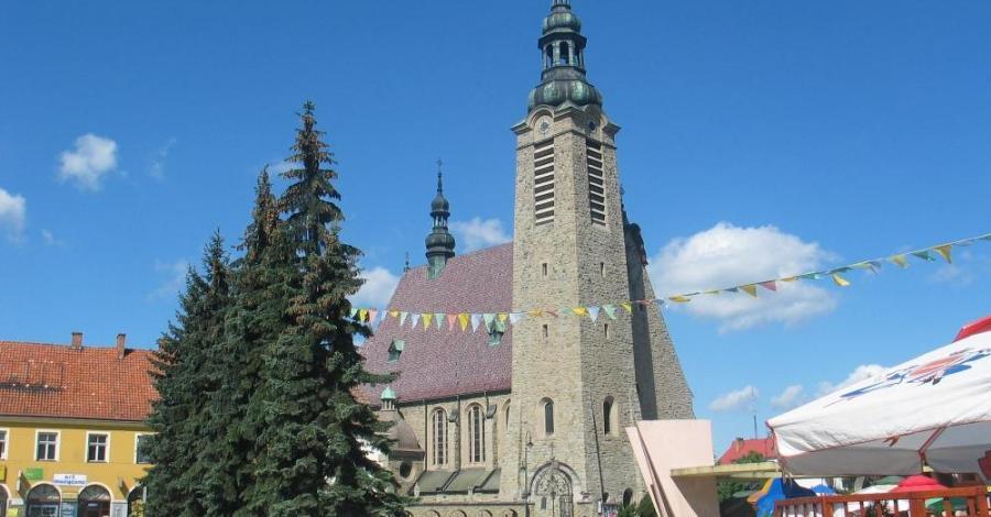 Sanktuarium w Limanowej - zdjęcie