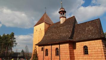 Drewniane kościoły w woj. śląskim - północ - zdjęcie