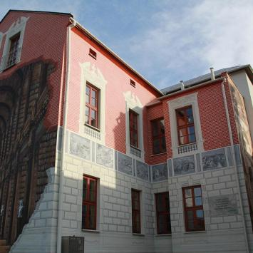 Mural w Ustroniu