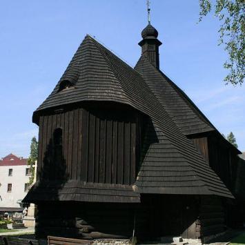 Drewniany kościół w Bieruniu