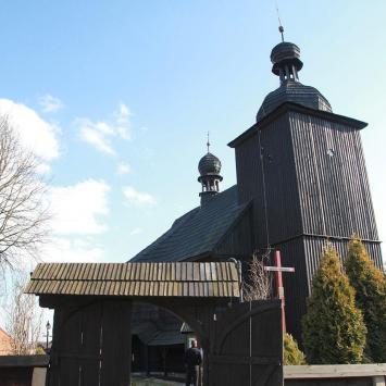 Drewniany kościół w Cieszowej