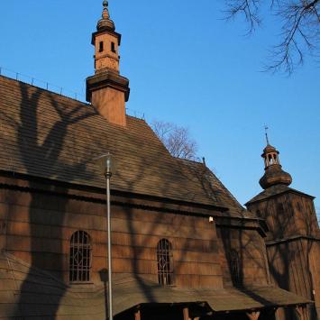 Drewniany kościół w Miasteczku Śląskim