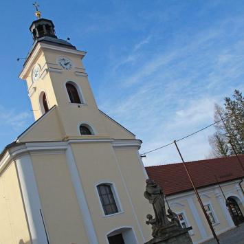 kościół w ustroniu