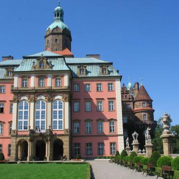 Zamek Książ - zdjęcie