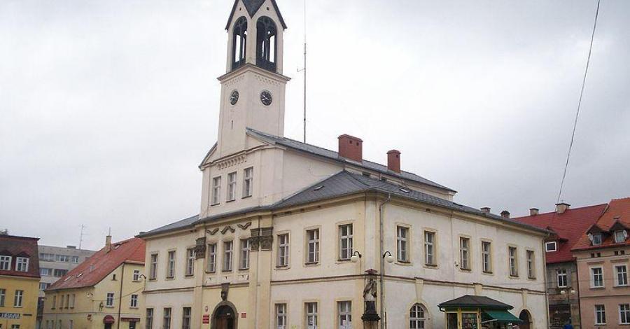 Rynek w Lubawce - zdjęcie