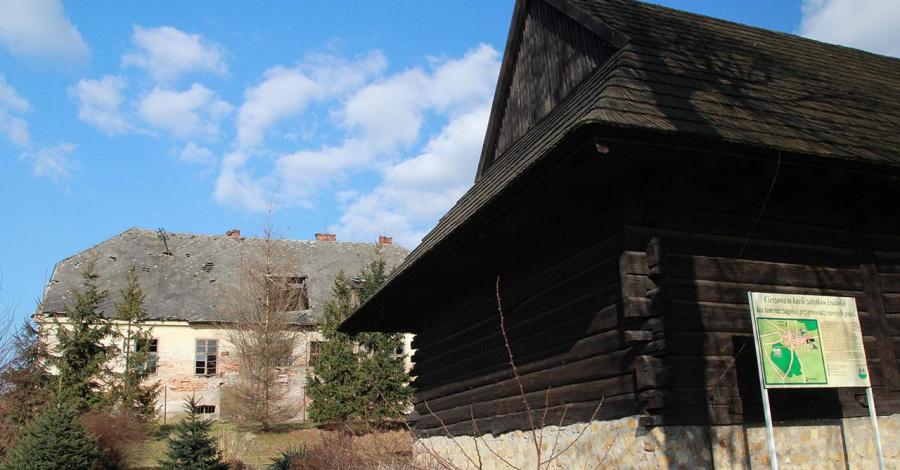 Spichlerz w Cieszowej - zdjęcie