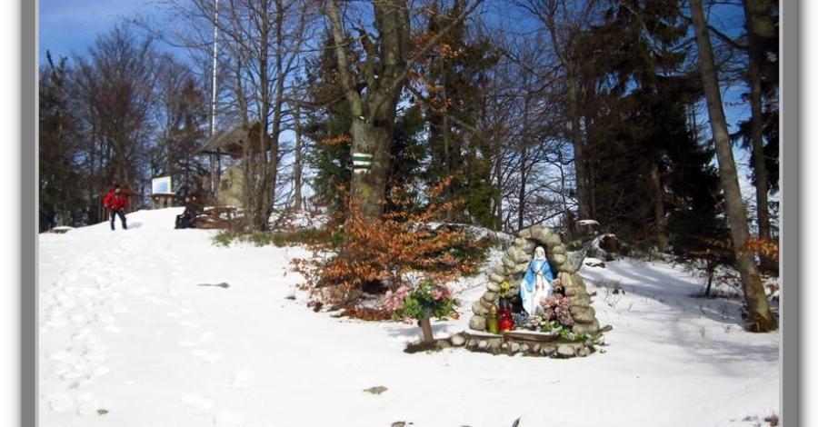 Szczebel w Beskidzie Wyspowym - zdjęcie