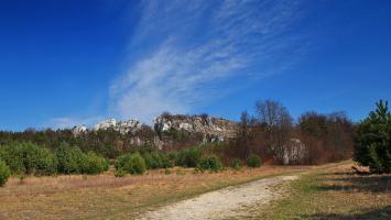 Jura - Góra Zborów, Mirów, Bobolice i strażnice - zdjęcie