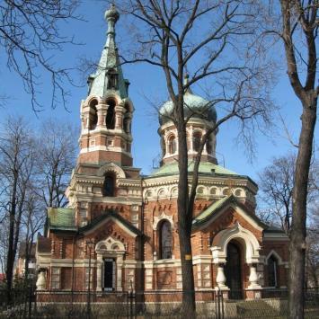 Cerkiew Prawosławna w Sosnowcu.