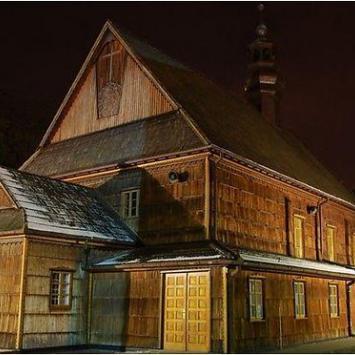 Drewniany kościół w Stalowej Woli