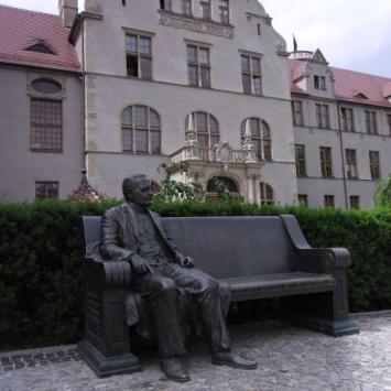 Ławeczka Święcickiego w Poznaniu