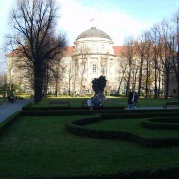 Ogród Zamkowy w Poznaniu