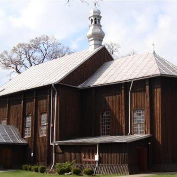 Drewniany kościół w Ulanowie