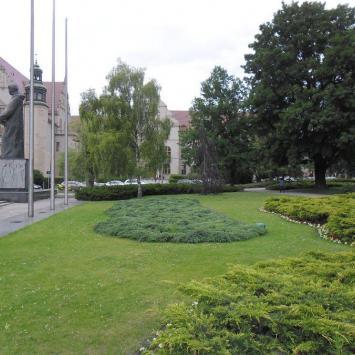 Plac Mickiewicza w Poznaniu