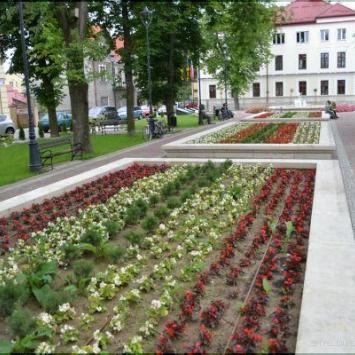 Planty Miast Partnerskich w Nisku - zdjęcie