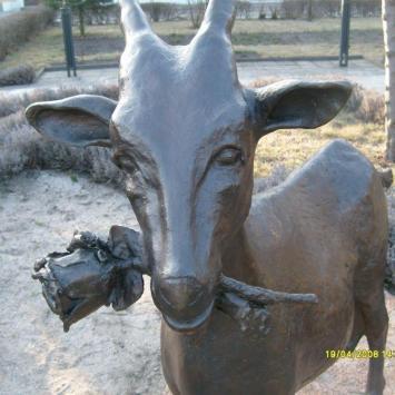 Pomnik kozy w Dolsku