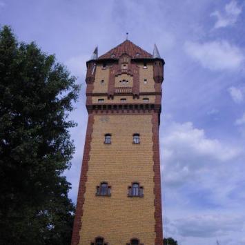 Ściana wspinaczkowa w wieży ciśnień w Kościanie