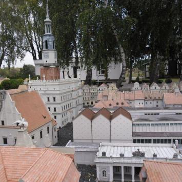 Skansen Miniatur Szlaku Piastowskiego w Pobiedziskach - zdjęcie