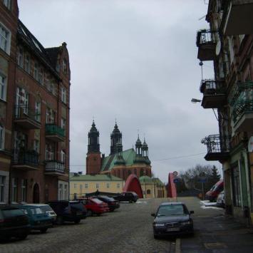 Śródka dzielnica Poznania