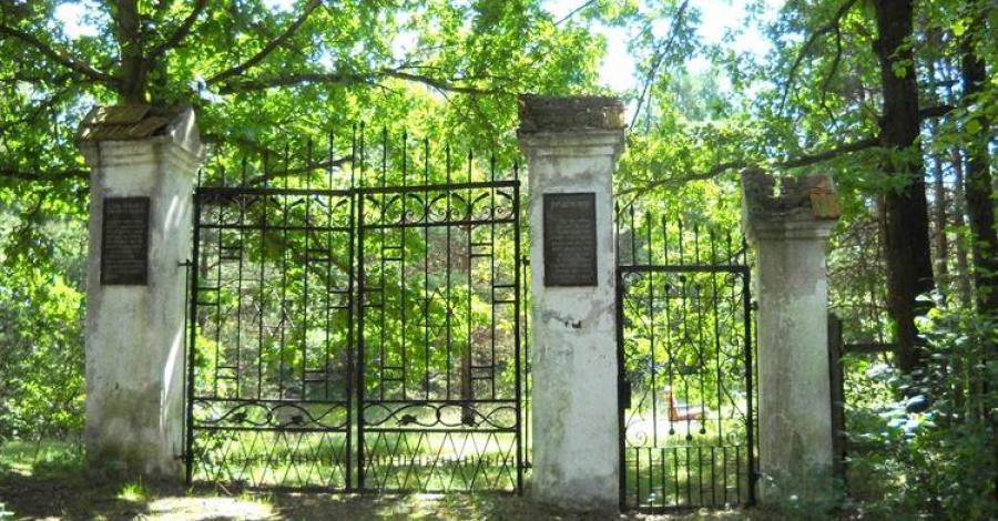 Cmentarz żydowski w Ulanowie - zdjęcie