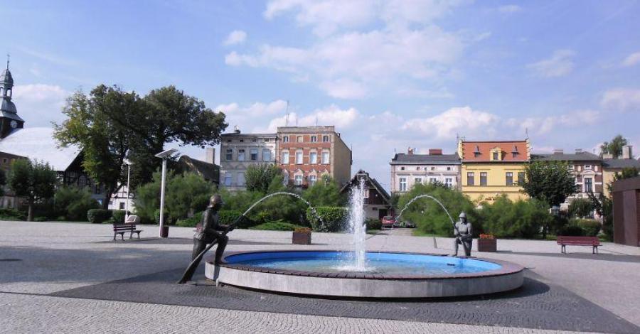 Fontanna w Rakoniewicach - zdjęcie