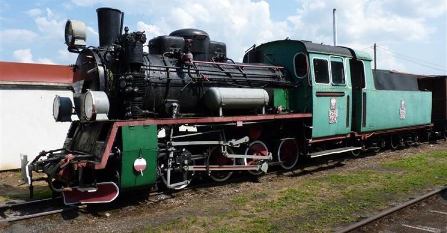 Kolejka wąskotorowa w Dynowie - zdjęcie