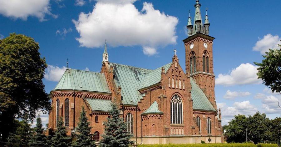 Kościół w Sokołowie Małopolskim - zdjęcie
