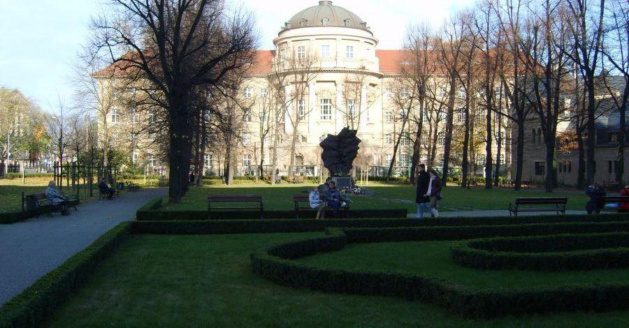 Ogród Zamkowy w Poznaniu - zdjęcie