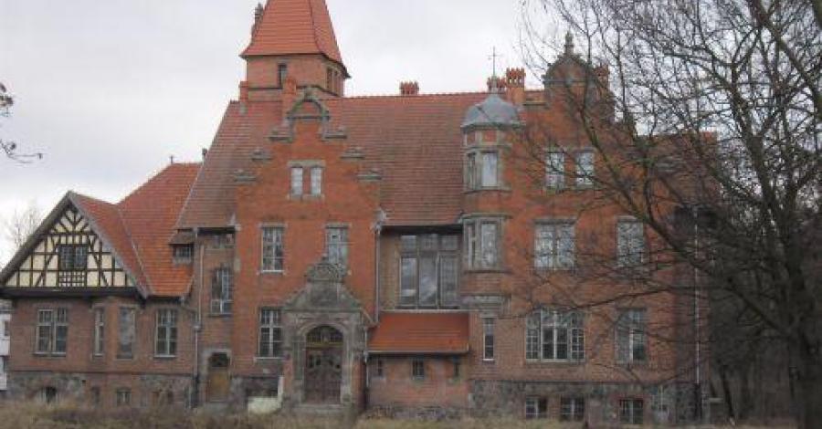 Pałac w Napachaniu - zdjęcie