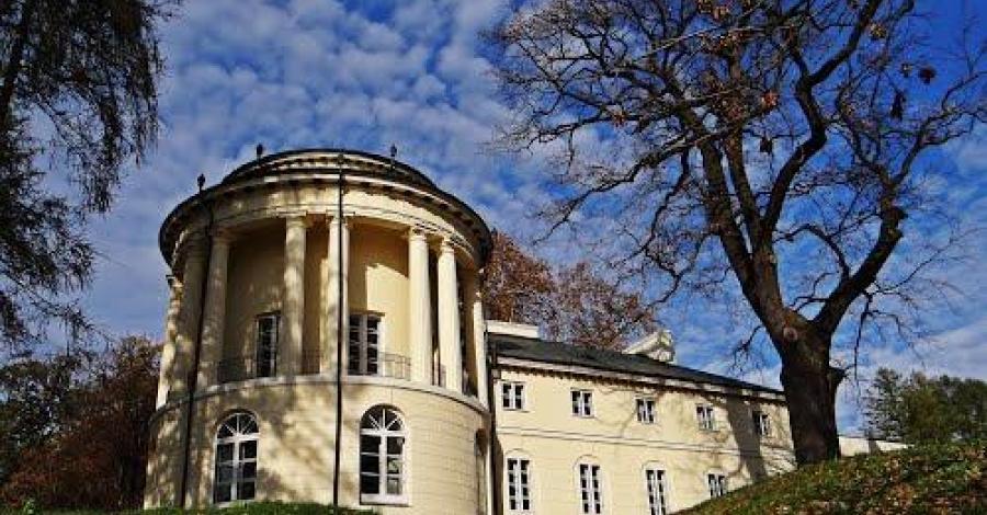 Pałac w Zarzeczu - zdjęcie