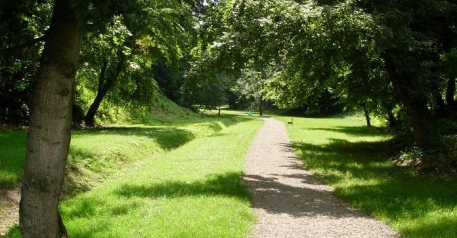 Park Buczyna w Górze Ropczyckiej - zdjęcie
