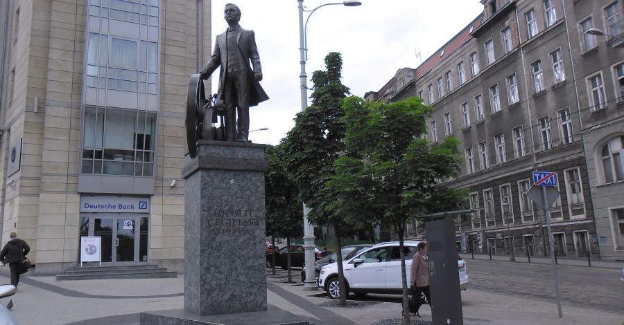 Pomnik Cegielskiego w Poznaniu - zdjęcie