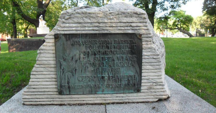 Pomnik Konfederatów w Inowrocławiu - zdjęcie