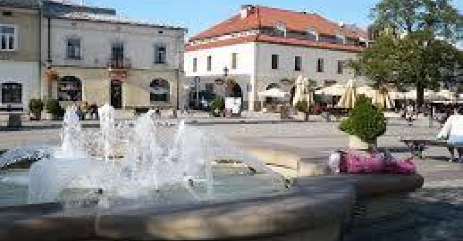 Rynek w Krośnie - zdjęcie