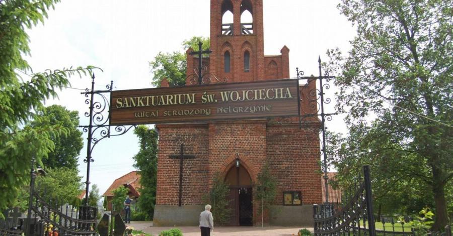 Sanktuarium Św. Wojciecha w Świętym Gaju - zdjęcie
