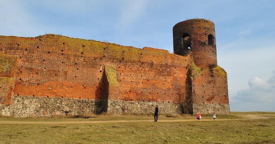 Zamek w Kole - zdjęcie
