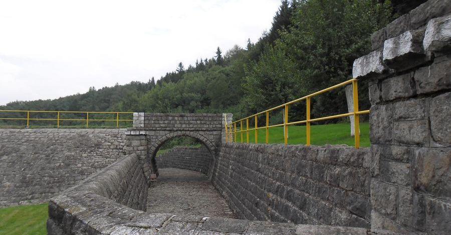 Zapora w Bolkowie - zdjęcie