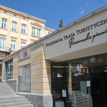 Podziemna Trasa Turystyczna na Rynku w Rzeszowie