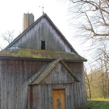 Drewniana cerkiew w Babicach