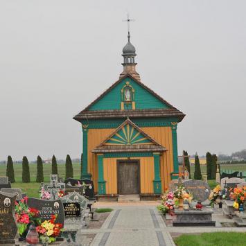 Drewniana cerkiew w Zadąbrowiu