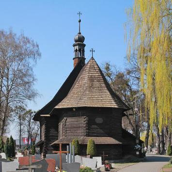 Drewniany kościół w Strzelcach Opolskich